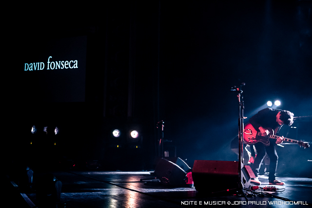 David Fonseca e Blind Zero nas Noites Ritual