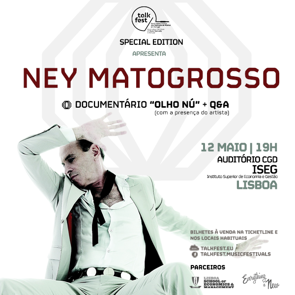 Ney Matogrosso na Talkfest Special Edition