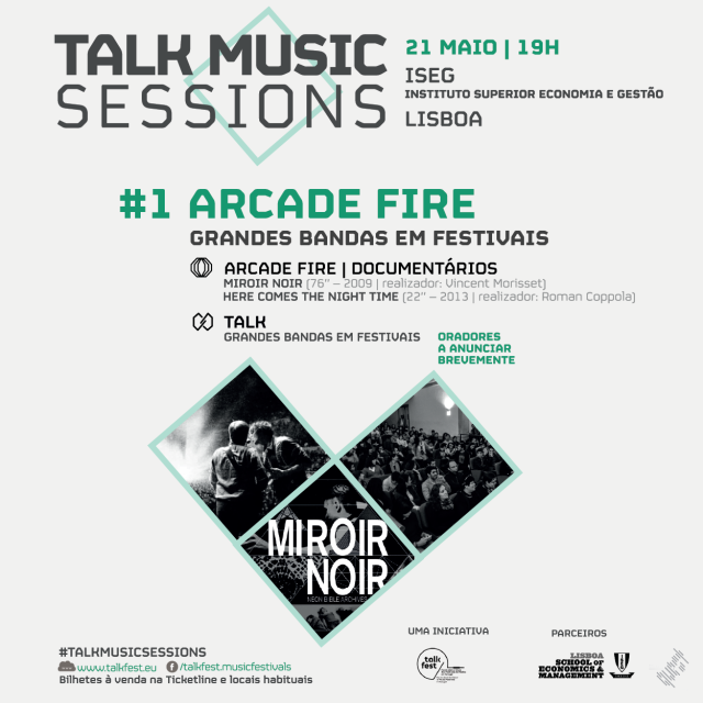 Talkfest Music Sessions arrancam com Arcade Fire