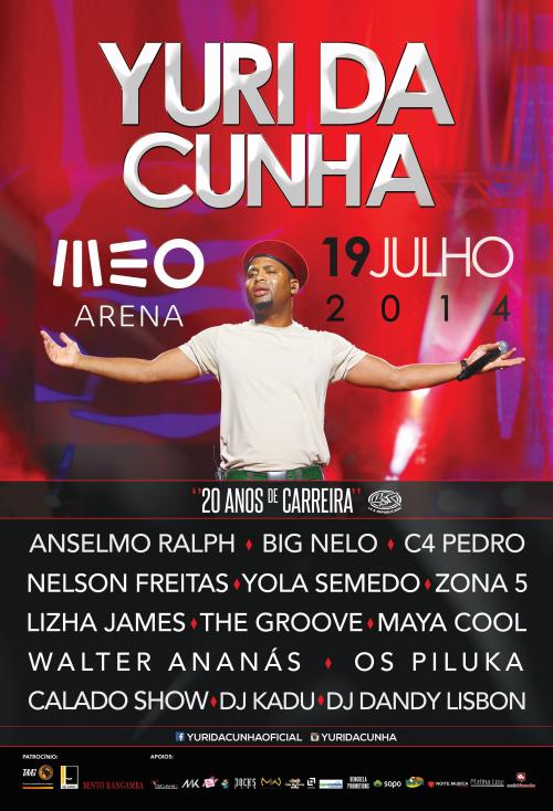 Passatempo: Yuri da Cunha na Meo Arena