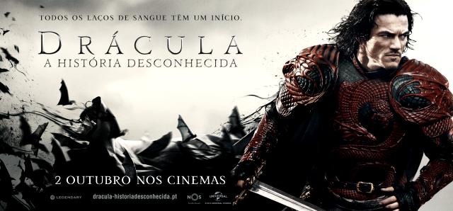 Ganha convites duplos para a antestreia de Drácula: A História Desconhecida