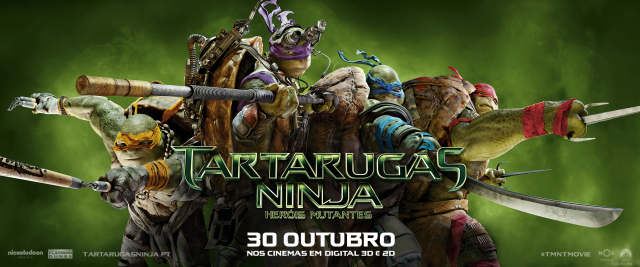 Ganha convites para as antestreias de Tartarugas Ninja: Heróis Mutantes