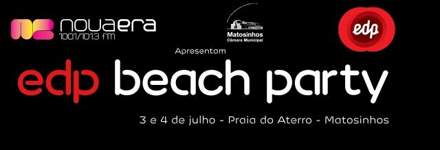 Passatempo EDP Beach Party