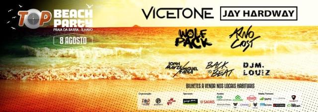 Passatempo Top FM Beach Party: ganha aqui o teu convite