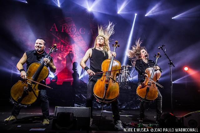 Apocalyptica ao vivo no Coliseu de Lisboa [fotos + texto]