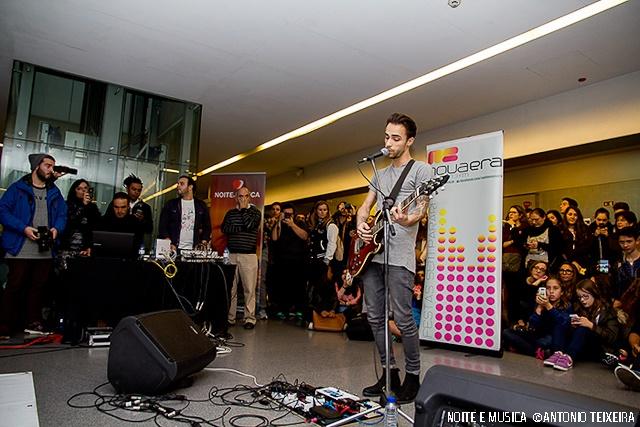 Diogo Piçarra ao vivo na Nova Era Música a Metro [fotogaleria]