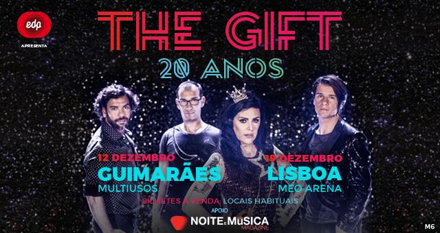 Passatempo The Gift [ganha convites para os concertos de celebração dos 20 anos]