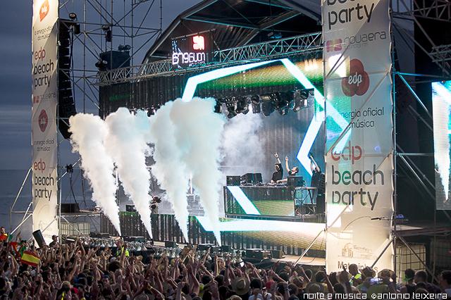 EDP Beach Party: consulta o guia de sobrevivência Noite e Música