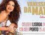 Ganha entradas e Meet & Greet para os concertos de Vanessa da Mata em Portugal