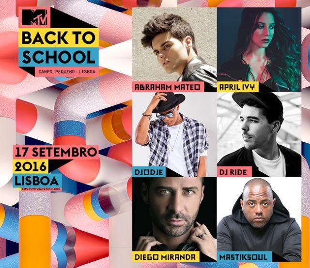 Passatempo MTV Back to School no Campo Pequeno: temos convites para sortear