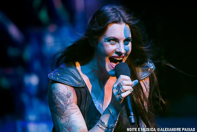 Nightwish ao vivo no Coliseu dos Recreios, em Lisboa [fotogaleria]