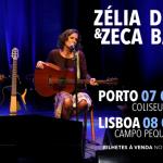 Zélia Duncan & Zeca Baleiro [ganha convites para os concertos do Porto e Lisboa]