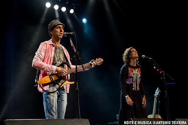 Zélia Duncan e Zeca Baleiro ao vivo no Coliseu do Porto [fotos + texto]