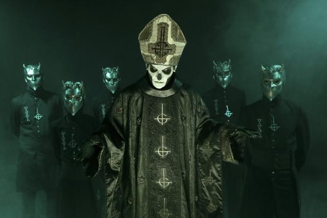 Ghost atuam em Lisboa no próximo ano