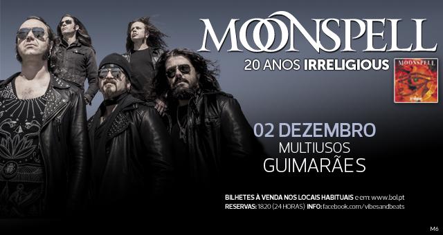 Moonspell no Multiusos de Guimarães [temos convites para oferecer]