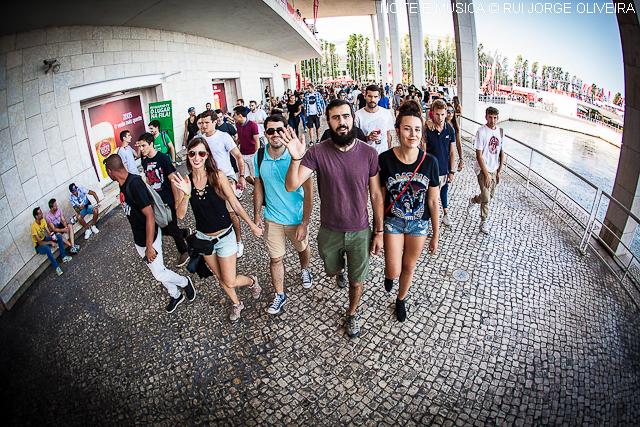Super Bock Super Rock além da música. As melhores fotos do festival do Parque das Nações