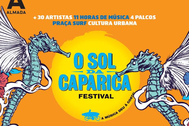 Passatempo Festival O Sol da Caparica: temos passes para oferecer