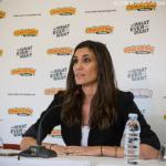 """Daniela Ruah na Comic Con Portugal: """"Nos Estados Unidos há leis fortes de proteção aos atores que não existem em Portugal"""""""