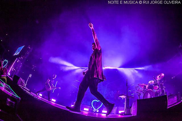 The Script em Lisboa: vê aqui as imagens do concerto na Altice Arena