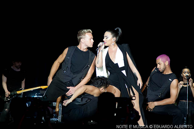 Rock in Rio-Lisboa: Demi Lovato emocionou a Bela Vista