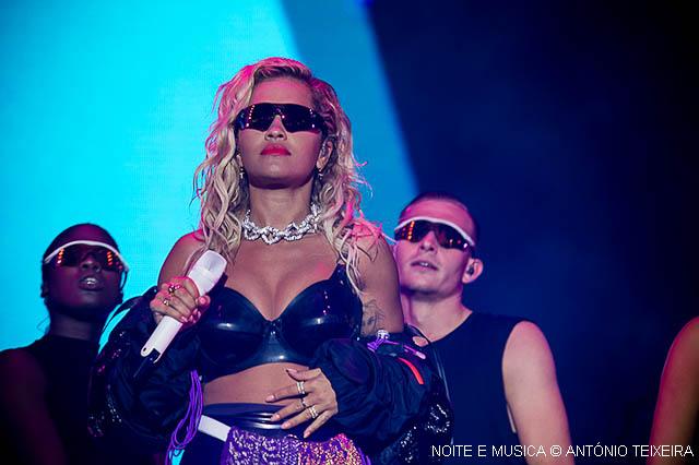 MEO Marés Vivas: Rita Ora sabe bem como se faz e não deixou margem para críticas