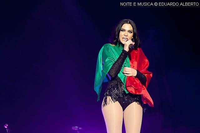 Rock in Rio-Lisboa: Jessie J tocou o coração dos fãs