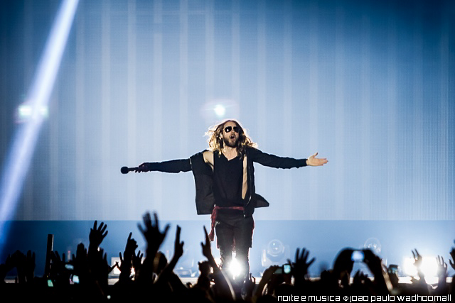 30 Seconds to Mars no Campo Pequeno em abril