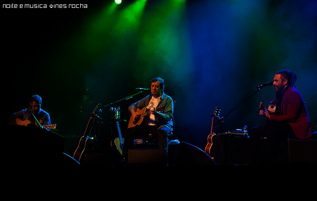 Rui Veloso Trio no Coliseu do Porto: reportagem