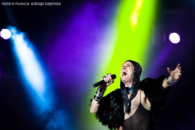 Ney Matogrosso no Coliseu do Porto: as imagens do concerto