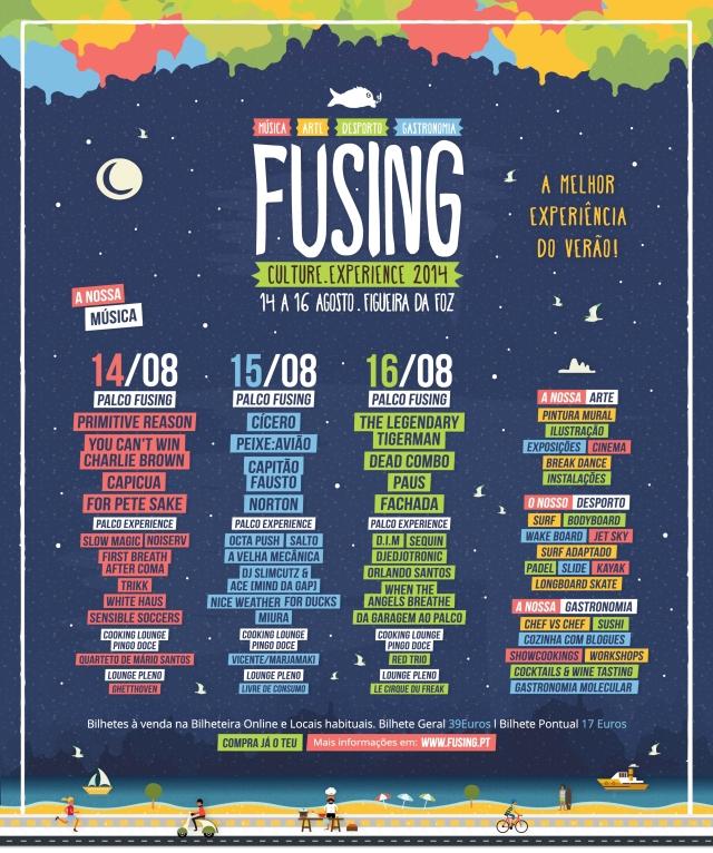Passatempo Fusing Culture Experience: Ganha passes para o festival