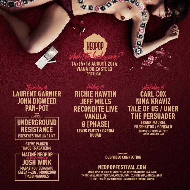 Passatempo Neopop Electronic Music Festival: Ganha entradas para o festival