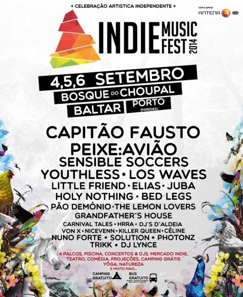 Passatempo Indie Music Fest: Ganha passes para o festival de Baltar