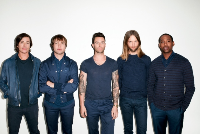 Maroon 5 na Meo Arena em junho de 2015