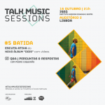 Batida na próxima Talk Music Session