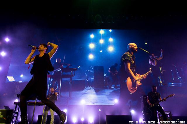 The Script ao vivo na Meo Arena, em Lisboa [fotogaleria + texto]