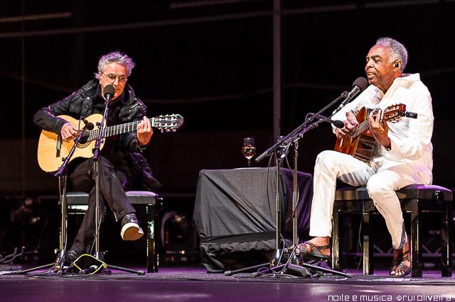 Caetano Veloso e Gilberto Gil ao vivo no EDP Cool Jazz [fotos + texto]