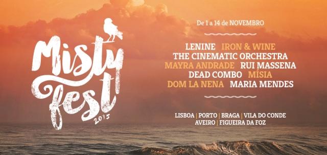 Misty Fest com nova imagem: conhece o cartaz de 2015