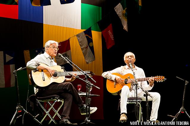 Caetano Veloso e Gilberto Gil ao vivo no Coliseu do Porto [fotos + texto]