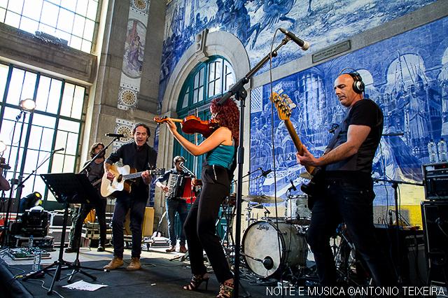 Quinta do Bill ao vivo na Estação de São Bento, no Porto [fotogaleria]