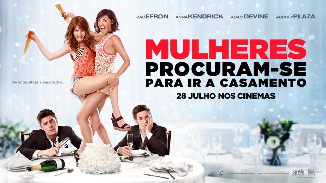 """Passatempo """"Mulheres Procuram-se Para Ir a Casamento"""" [Antestreias em Lisboa e Porto]"""