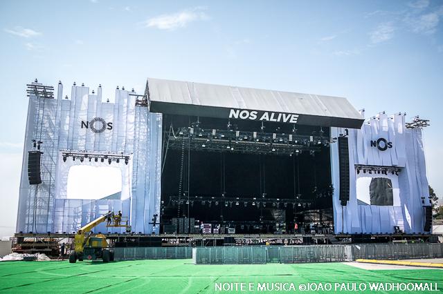 NOS Alive: conhece aqui o recinto da 10ª edição