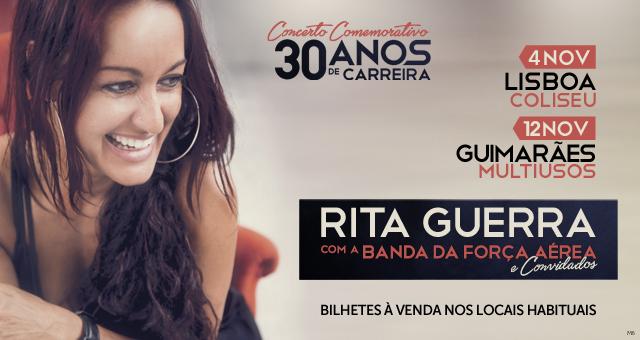 Passatempo Rita Guerra [ganha convites para os concertos de celebração dos 30 anos de carreira]