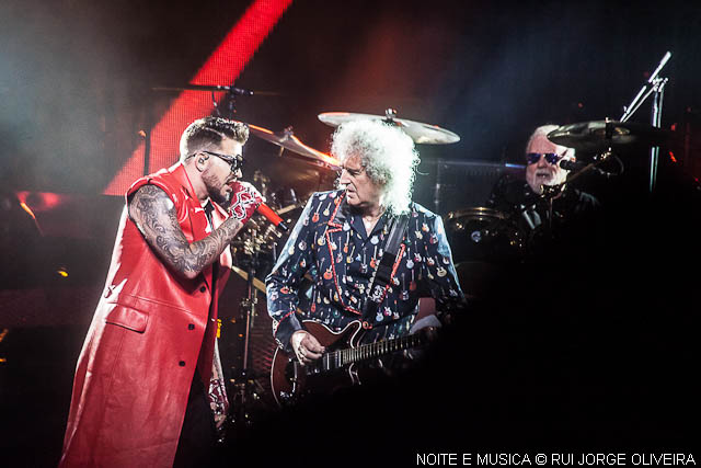 Queen + Adam Lambert ao vivo na Altice Arena: a rainha viverá [fotogaleria + texto]