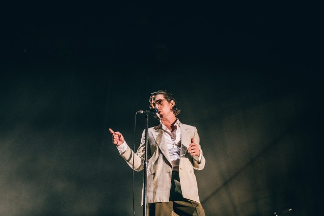 "NOS Alive: Arctic Monkeys ""abafados"" pela máquina Nine Inch Nails"
