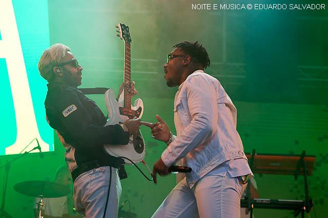 D'Alva no NOS Alive: o espetáculo de Alex D'Alva Teixeira [fotos]