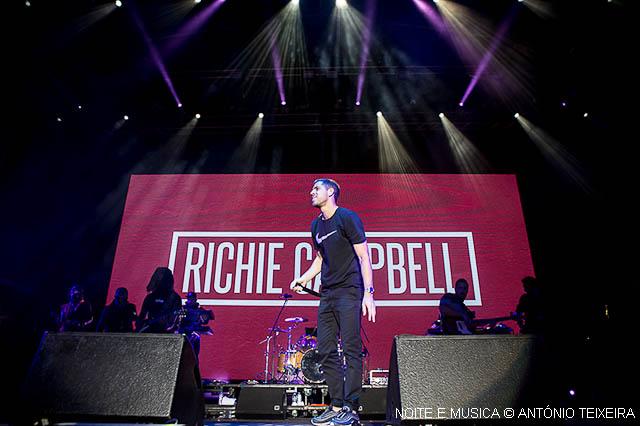 Richie Campbell no MEO Marés Vivas: um autêntico caso de sucesso
