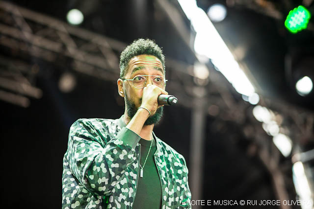 Sentiram a boa vibe? As imagens do concerto de Oddisee & Good Compny no Super Bock Super Rock