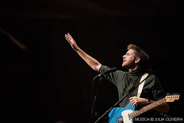 Tiago Nacarato cantou o Brasil e a Casa da Música aplaudiu [fotos + texto]