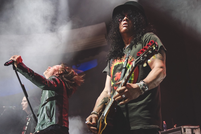 Slash ft. Myles Kennedy & The Conspirators no Campo Pequeno: Noite de (Air) Guitar Heroes