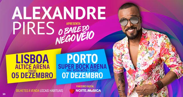 Alexandre Pires em Portugal [ganha DVDs e convites para os concertos de Lisboa e Porto]